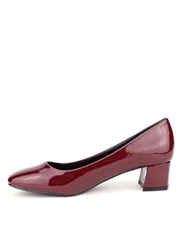 Cink Femme Escarpin Verni Cendriyon Bordeaux Chaussures qx8XTtfw