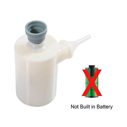 QUMOX Mini Air Luft Pump aufblasbare tragbare Luftpumpe schnell infiltes / Deflates (angetrieben durch USB-Kabel) für Air Luft Betten Matratzen Paddling Schwimmbecken Spielzeug schwimmt Ballons (Manuelle Inflation-pumpe)