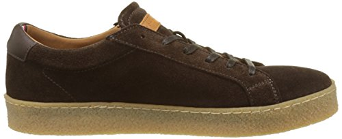 Tommy Hilfiger L2285ogan 1b, Baskets Basses Homme Marron (Coffee Bean)
