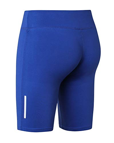 DaobaWOMEN Damen Sporthose Fitnesshose Yoga Leggings Sporthosen Fitness Stretch Tights Shorts Compression Sports Kurze Hosen - Haltung Compression Short