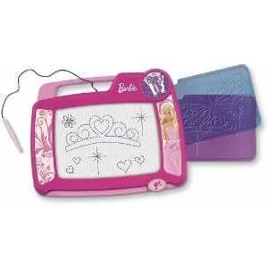 enfant jeu Fisher Price Barbie Kid Tough Doodler W/2 Stencils with 2 Full-Size Stencils And A Magnetic Pen jouet joujou
