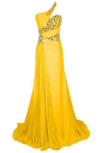 Sunvary -  Vestito  - Donna Gold Yellow
