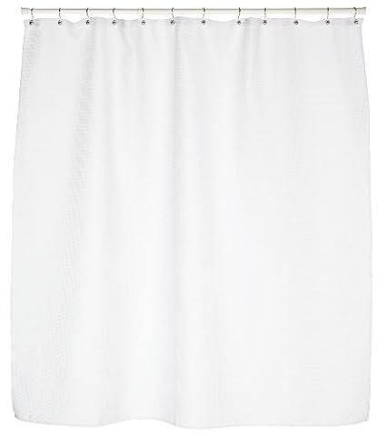 Carnation Home Fashions tissage gaufré Rideau de douche en tissu