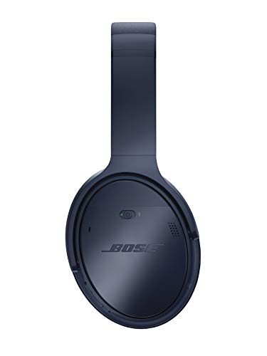 Bose QuietComfort 35 (Series II) Wireless Headphones, Noise Cancelling with Amazon Alexa - Midnight Blue