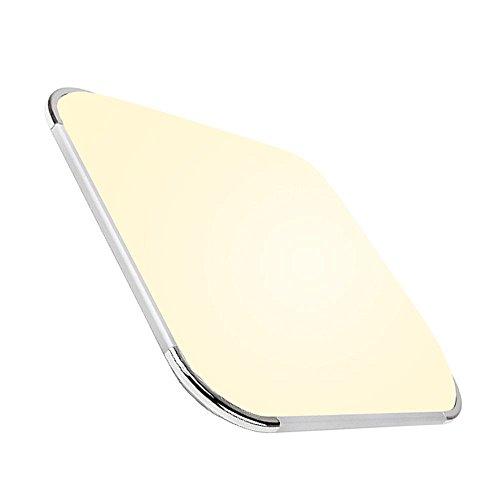 24w LED Deckenleuchte Modern Warmweiß 2700K-3200K IP44 Esszimmer Deckenbeleuchtung Badezimmer geeignet