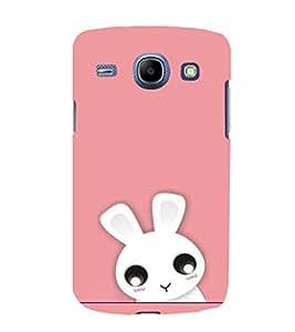 printtech Cute Bunny Back Case Cover for Samsung Galaxy A8 / Samsung Galaxy A8 A800F