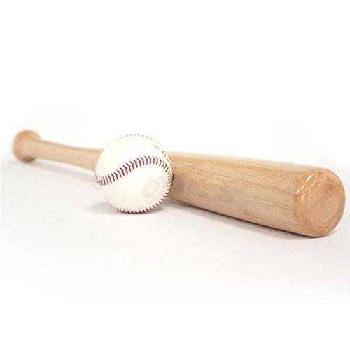 GRSPORTS Kit Mazza da Baseball in Legno + Palla Baseball