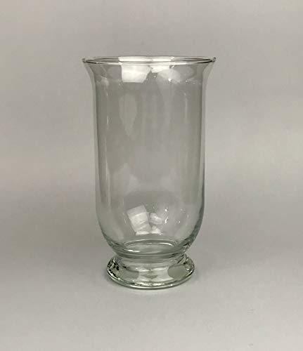Aars International Decor Vase en Verre. Hauteur : 25 cm.