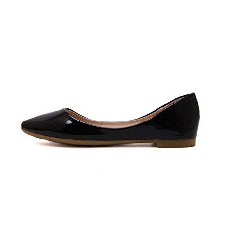Mocassins, Malloom Femmes Chaussures Bateau Occasionnel Glissent Sur Des Mocassins Plats Chaussures Simples Noir