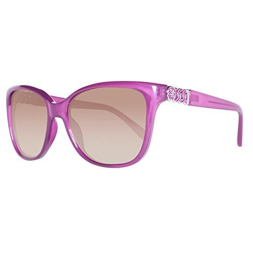 Guess Damen GU7385-5681F Sonnenbrille, Violett (Morado), 56