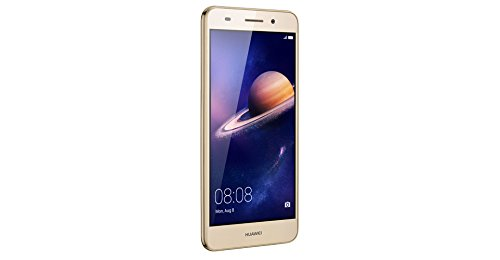 Huawei Y6 II Compact 51090PVH - Smartphone de 5-Pulgadas (RAM de 2 GB, memoria interna de 16 GB, camara de 13 MP, Android), color dorado