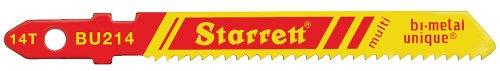 Starrett BU 214-5 Lot de 5 Lames pour Scie Sauteuse