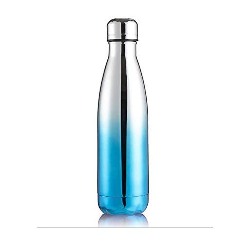 Lyzwell Thermos Flaschen Kreative Mode Männer Und Frauen Outdoor-Sportarten Tragbare Galvanik Gradienten 304 Edelstahl Doppelschicht Vakuum Koksflasche Thermos Tasse D - Nissan Travel Mug
