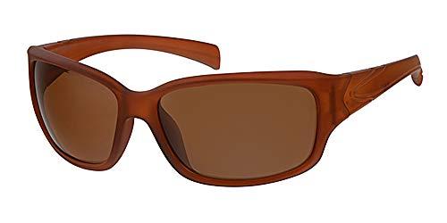 Sport und Sonnenbrille + Gelb um Hals Kordel, rutschfestem braun Rahmen