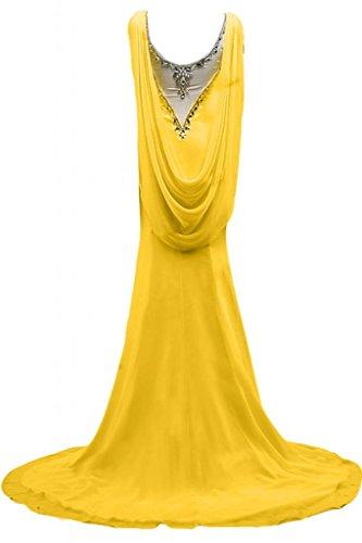 Sunvary romantico scollo Sweetheart vestito da donna, per abiti da sera, Gowns Oro