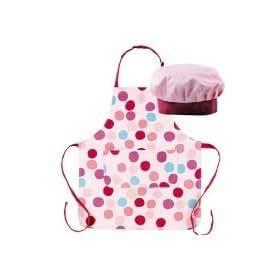 Miniamo cupcakes set da cuoco per bambini cappello e - Grembiuli da cucina ...