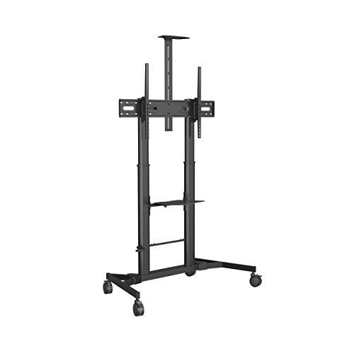 Black Flat Panel Floor Stand (VISION VFM-F25 Flat Panel floorstand 2.54 m (100