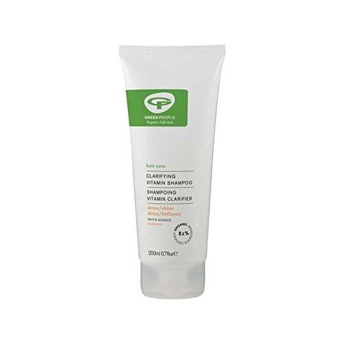 Gens Verts Vitamine Shampooing (200Ml) (Pack de 4)