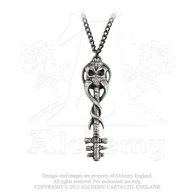 Anhänger von Alchemy Gothic (Metal-Wear) Ohrring von Alchemy metal-wear (Religiöse Halloween Kostüme)