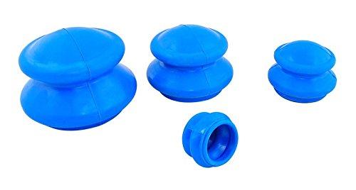 Vakuum Schröpfen 4 Stück aus Gummi Neu #484 (Stück 4 Vakuum)