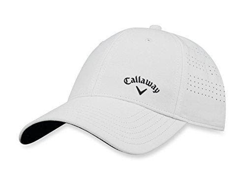 Callaway Femme Opti-vent réglable Casquette de golf Taille unique blanc/noir