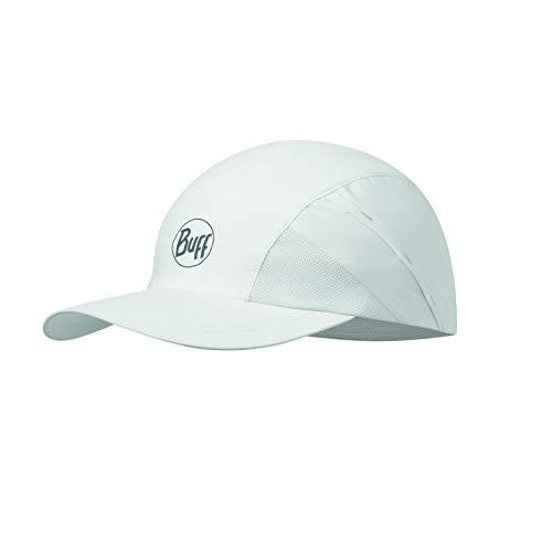 Buff Erwachsene Pro Run Cap, R-Solid White, One Size Haube Cap Haube