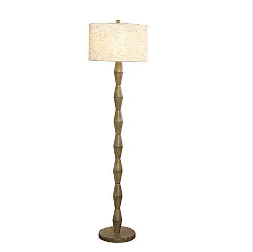 LYX® Stehlampe, LED-Stehlampe Einfache moderne Wohnzimmer Schlafzimmer Nachttisch Nordeuropa Harz Tischlampe vertikale Stehlampe -