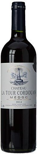 CHATEAU LA TOUR CORDOUAN - Grand Vin Rouge de Bordeaux Médoc - AOP Médoc 2014 - Médaillé d'argent au Concours de Bruxelles 2017
