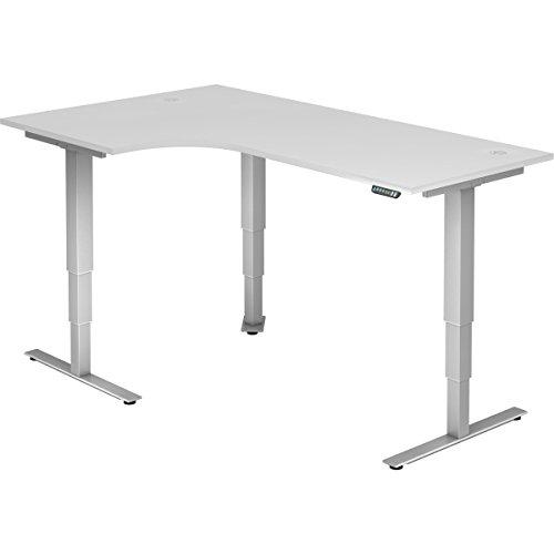 Nienhaus elektrisch höhenverstellbarer Schreibtisch Ergonomie aktiv, 200 x 120 cm -