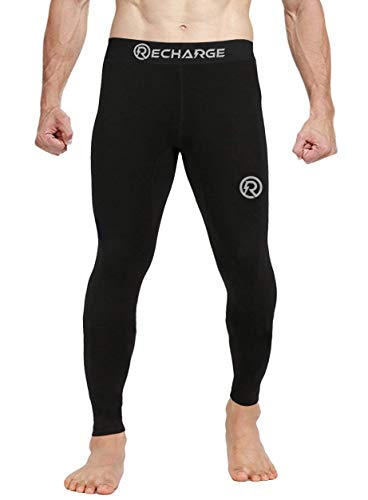 ReDesign Apparels Recharge Men's Polyester Compression Pant/Legging/Full Tights
