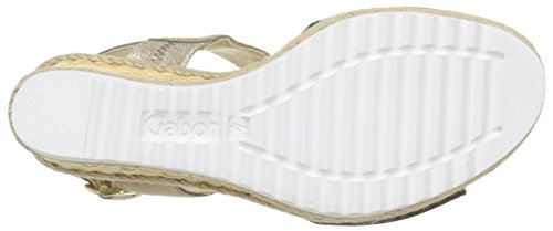 Gabor 45-790 sandales mode femme Multicolore (37 schwarz/space)