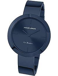 175d48fb833b JACQUES LEMANS 1-2031J La Passion - Reloj de Pulsera para Mujer (Correa de  Metal Maciza