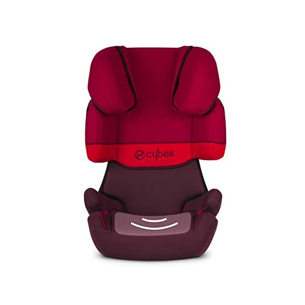 CYBEX Silver Solution X-Fix Child's Car Seat, For Cars with and without ISOFIX, Group 2/3 (15-36 kg), From approx. 3 to approx. 12 years, Cobblestone Cybex Sturdy and high-quality child car seat for long-term use - For children aged approx. 3 to approx. 12 years (15-36 kg), Suitable for cars with and without ISOFIX Maximum safety - 3-way adjustable reclining headrest, Built-in side impact protection (L.S.P. System) 11-way adjustable, comfortable headrest, Adjustable backrest, Comfortable seat cushion 5