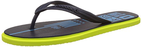 Reebok Men's Chrome Flip Navy, Blue and Green Flip-Flops and House Slippers - 8 UK/India (42 EU)(9 US)  available at amazon for Rs.539