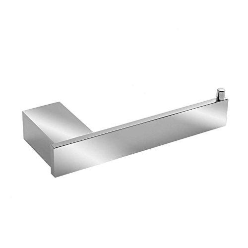 Oslo-serie (Sanixa TA62104 Hochwertige Toilettenpapier-Halter Serie Oslo Aluminium ROSTFREI | Badaccessoires | WC Klorollen-Halter Gäste WC | Bad-Zubehör)