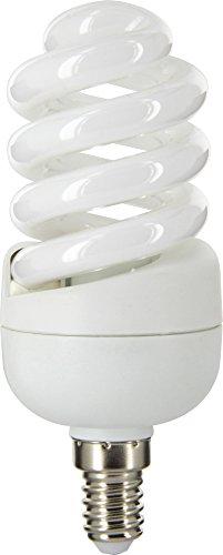 Dhome - Ampoule Fluocompacte spirale E14 - 15 W Dhome