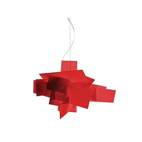 Foscarini Lampe de Suspension Foscarini Big Bang LED - Rouge