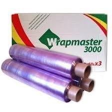 Deli Supplies 12 Rollos De Wrapmaster 3000 Film Transparente