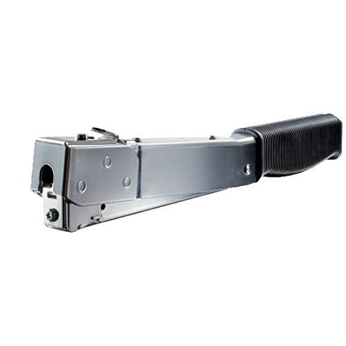 Novus Hammertacker J-032, Oberlademechanik, ergonomischer Griff, leichter Tacker für Flachdrahtklammern bis 10 mm Länge