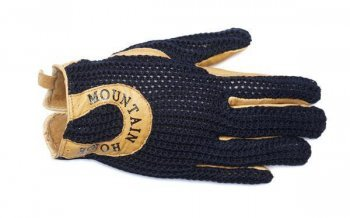 Mountain Horse Handschuh Crochet Glove, Dark Navy, S