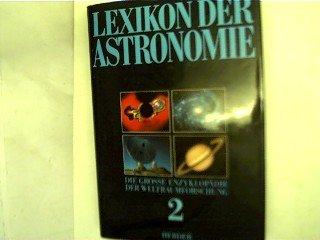 Lexikon der Astronomie (hier nur Band 2, Die große Enzyklopädie der Weltraumforschung in zwei Bänden, Zweiter Band - Missing mass- Problem bis ZZ Ceti- Sterne,