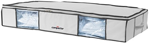 Compactor Life XL Funda AHORRAESPACIO, Polipropileno, Gris, Color Blanco