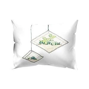 HEVÜY Leinenoptik Home Dekorative Kissenbezug Kissenhülle Kissenbezug für Sofa Schlafzimmer Auto mit Reißverschlüsse…