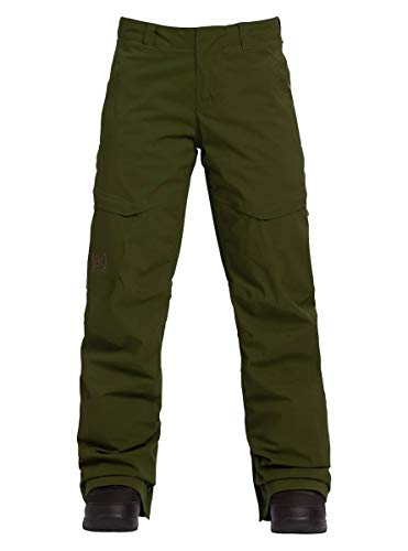Burton Damen AK Gore-Tex Insulated Summit Pant, Damen, Women's AK Gore-tex Summit Insulated Snow Pant, Forest Night, Small (Snow Pants Insulated)