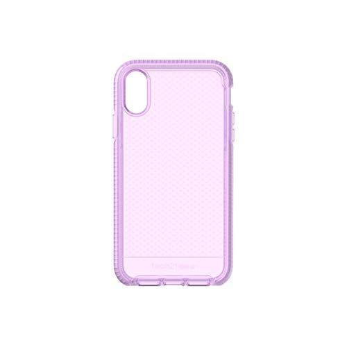 Tech21 Evo Check Schutzhülle für Apple iPhone XR - Lila Orchidee -
