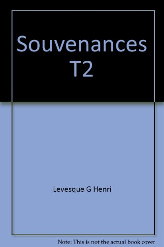 Souvenances, tome 2