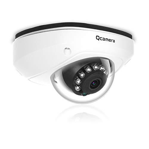 Q-camera Telecamera Di Sicurezza Dome 1080P 2MP 4 In 1 TVI/CVI/AHD/CVBS 1/2.9' 2.8mm Obiettivo 33Ft IR Visione Notturna Sistema Di Sorveglianza Telecamera Per Interni