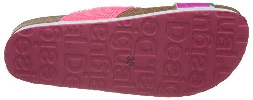 Desigual Bio 10 Megara 2, Sandales Plateforme femme Rose - Pink (3167 Pink)