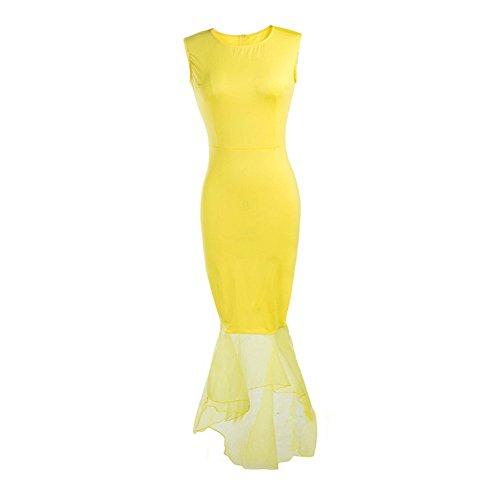 ou-griglia-da-donna-senza-maniche-pizzo-fishtail-abito-da-sera-yellow-medium