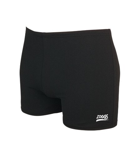 Zoggs Herren Badehose Zip Pocket Hip Racer, Schwarz, DE 52(13) UK 50, 488080